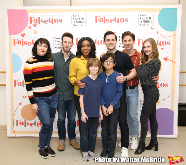 Photo Coverage: Meet The Cast of the FALSETTOS Tour!