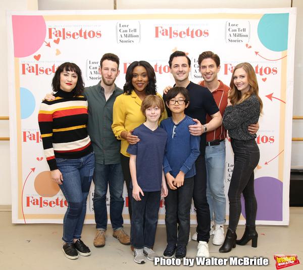 Photo Coverage: Meet The Cast of the FALSETTOS Tour!