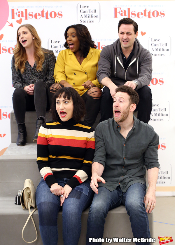 Photo Coverage: Fall in Love All Over Again in Rehearsal for the FALSETTOS Tour!