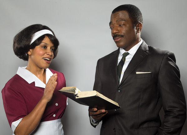 Carolyn Ratteray (Camae) and Gilbert Glenn Brown (Martin Luther King Jr.) Photo