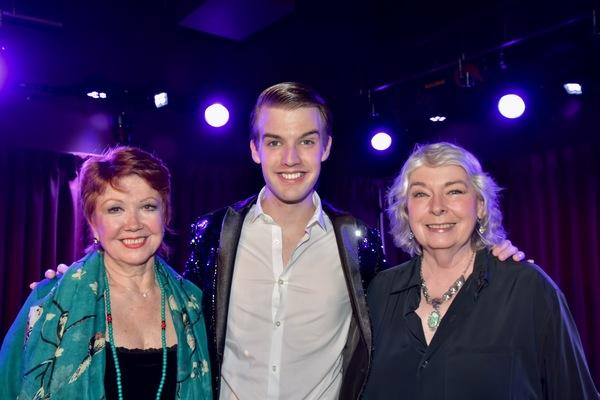 Donna McKechnie, Mark William and Jill O'Hara Photo