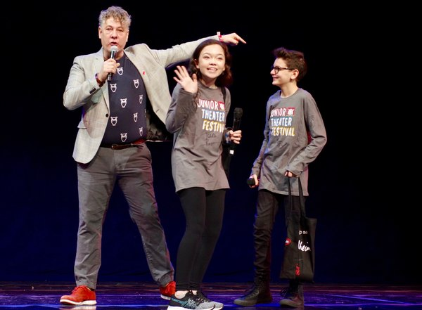 Photos: Inside the Junior Theatre Festival in Atlanta, With Pasek and Paul, Cynthia Erivo, Cameron Mackintosh, and More!