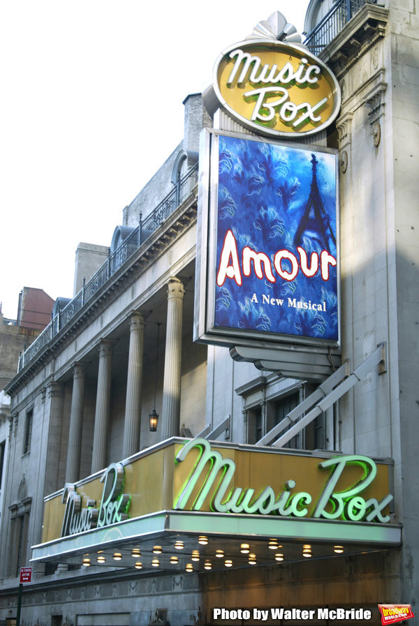 Photo Flashback: AMOUR By Michel Legrand Opens on Broadway