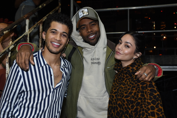 Jordan Fisher, Mario and Vanessa Hudgens