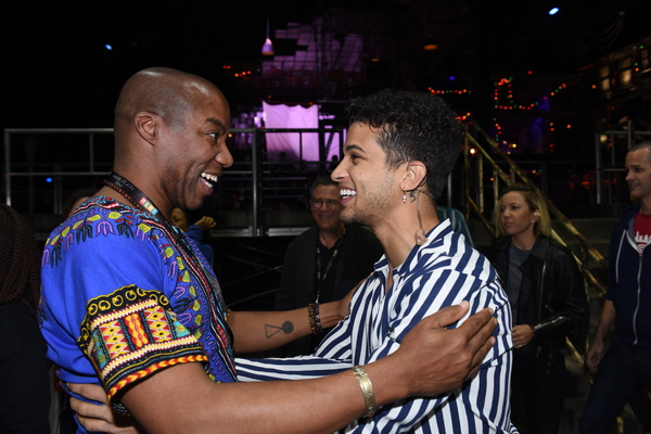 Rodney Hicks and Jordan Fisher