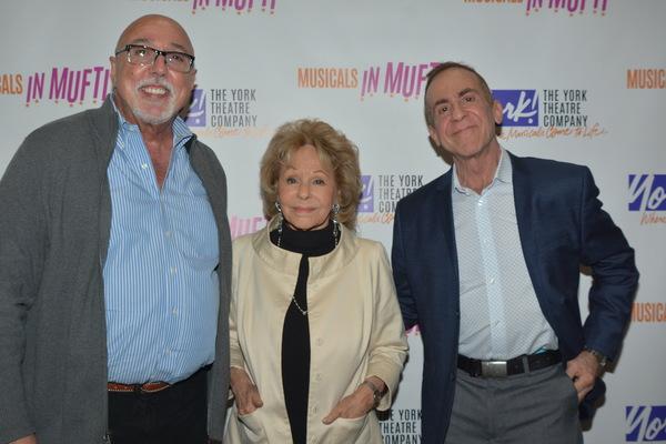 Barry Harman, Elise Loti Stein and Michael Leeds (Director) Photo