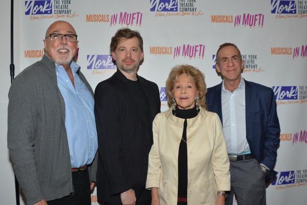 Barry Harman, David Hancock Turner (Music Director), Elise Loti Stein and Michael Lee Photo