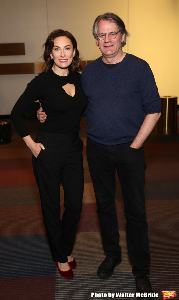Laura Benanti and Bartlett Sher