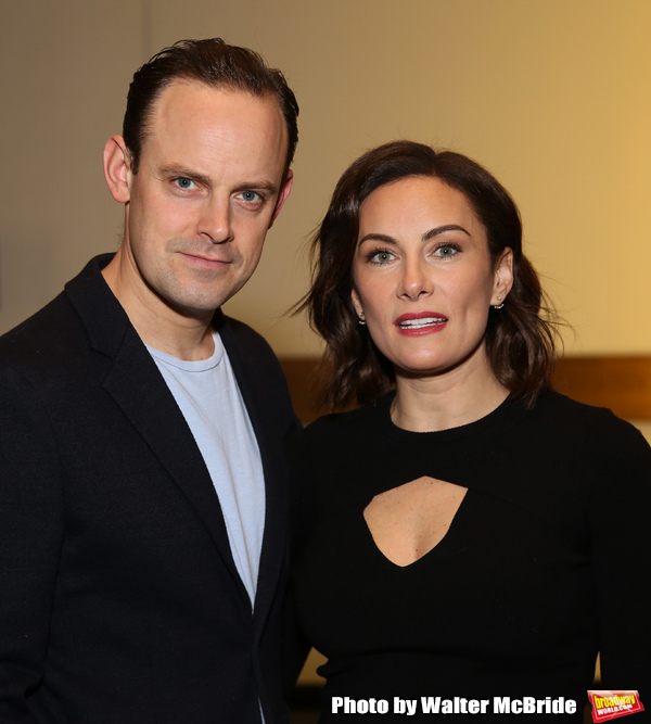 Harry Hadden-Paton and Laura Benanti