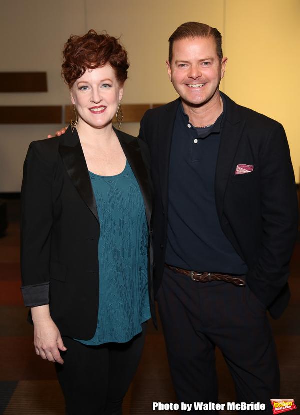 Linda Mugleston and Clarke Thorell  Photo
