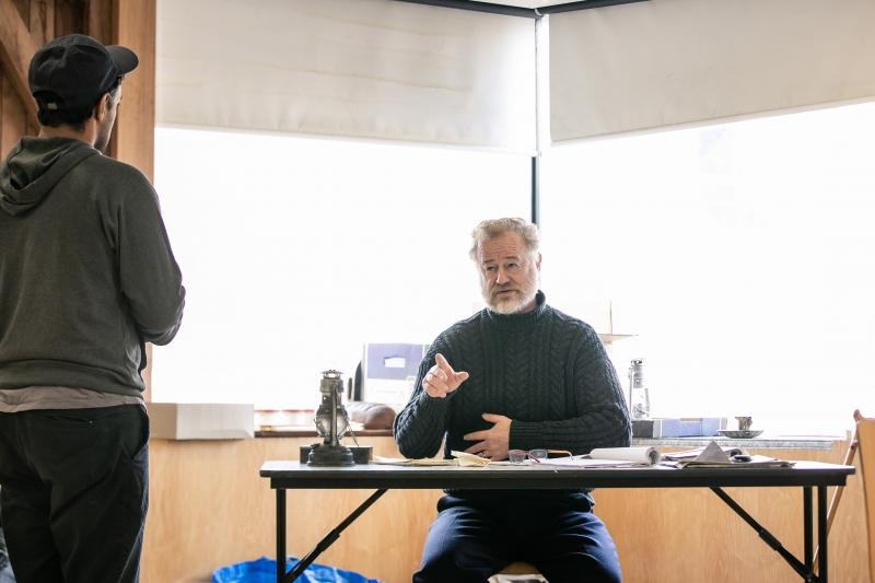 Owen Teale talks RUTHERFORD AND SON at the Crucible Theatre