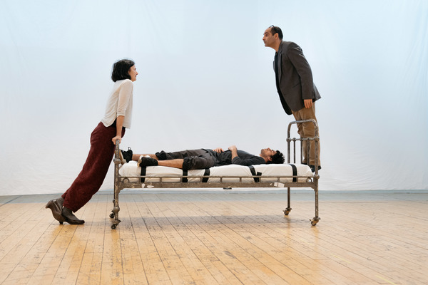 Photos: Inside Rehearsal For EQUUS at Theatre Royal Stratford East