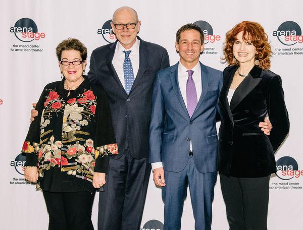 Artistic Director Molly Smith, Executive Producer Edgar Dobie, Producer Robert Ahrens and Candy Buckley (White House Official)