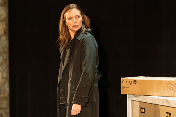 Photo Flash: First Look at Samantha Womack and the Cast of THE GIRL ON THE TRAIN