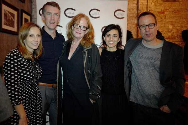 Adrienne Campbell-Holt, Adam Harrington, Johanna Day, Marjan Neshat, and Stephen Belber