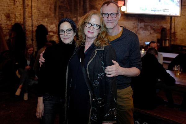 Mary Louise Parker, Johanna Day, and Mark Brokaw