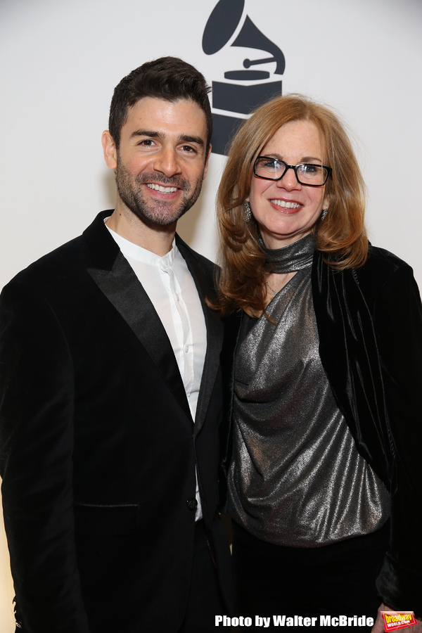 Adam Kantor with his mom
