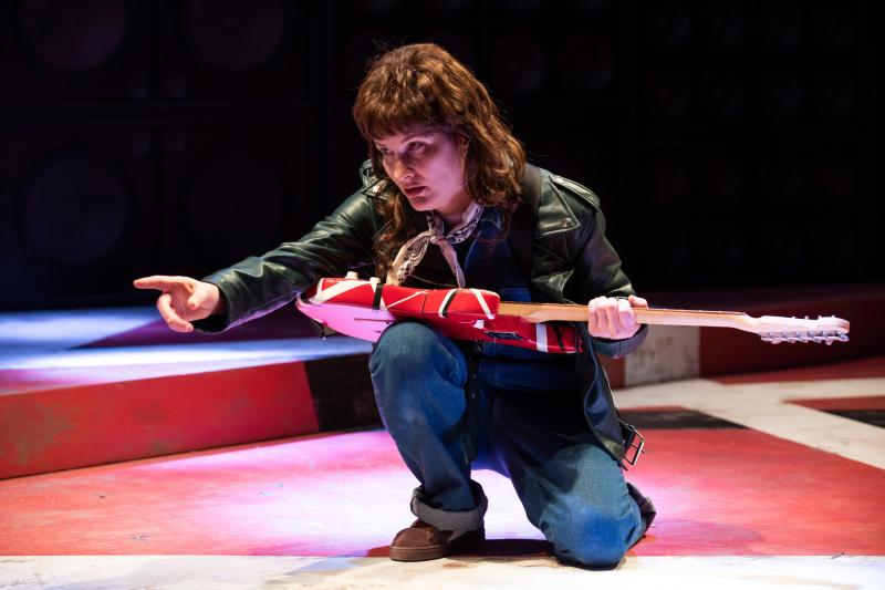 BWW Review: Amy Staats' Fun and Frisky Look at Van Halen, EDDIE AND DAVE