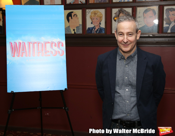 Photo Coverage: Joey McIntyre and Eddie Jemison Get Ready to Join the Cast of WAITRESS
