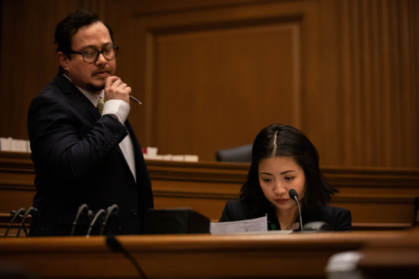 Photo Flash: First Look at Ruthie Ann Miles & More in Waterwell's THE COURTROOM
