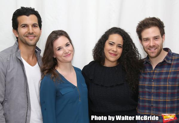 Gabriel Sloyer, Mairin Lee, Keren Lugo and Ben Rappaport  Photo