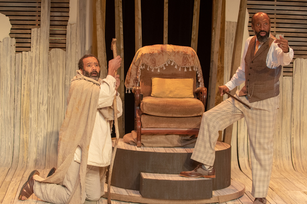Photo Flash: First Look at Firehouse's OEDIPUS/A GOSPEL MYTH