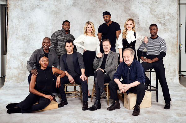 Photo Flash: The Cast of KISS ME, KATE is Too Darn Hot in This New Portrait