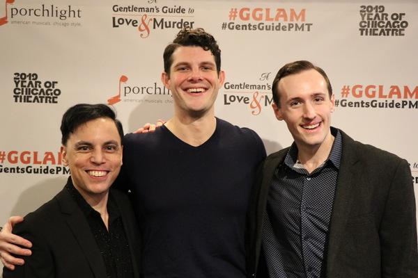 Michael Reyes, William Dwyer and Ryan Dooley Photo