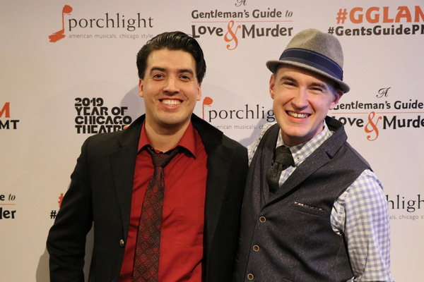 Photo Flash: Porghlight Celebrates Opening Night of A GENTLEMAN'S GUIDE TO LOVE & MURDER