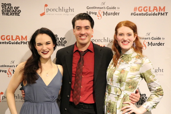 Emily Goldberg, Andrés Enriquez and Ann Delaney Photo