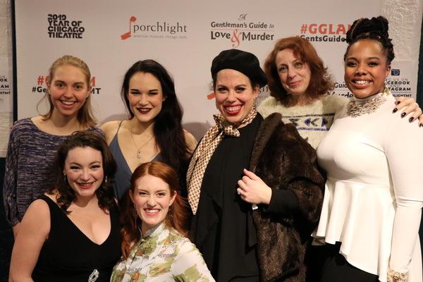 Phoebe Moore, Rachel Klippel, Emily Goldberg, Ann Delaney, Megan Elk, Caron Buinis and Sharriese Hamilton