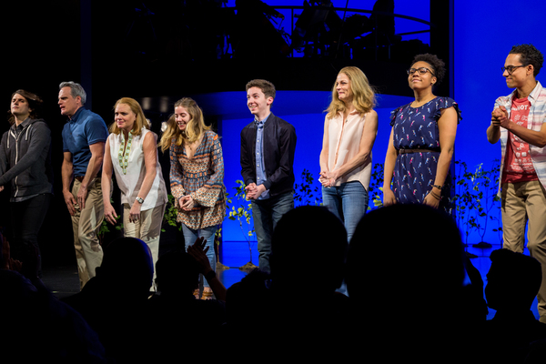Photo Coverage: Good For You, Andrew Barth Feldman! Inside the Opening Night Bows for Broadway's New Evan Hansen