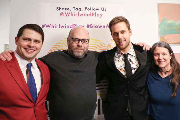 Photo Flash: WHIRLWIND Celebrates Opening Night at The Wild Project