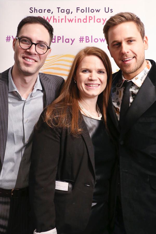 Jordan Jaffe, Rebecca Crigler, and Dan Amboyer Photo