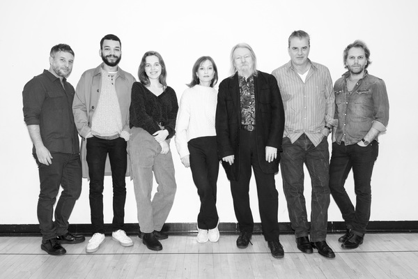 Trip Cullman (Director), Justice Smith (Nicolas), Odessa Young (Élodie), Isabelle Huppert (Anne), Christopher Hampton (Translator), Chris Noth (Pierre) and Florian Zeller (Playwright)