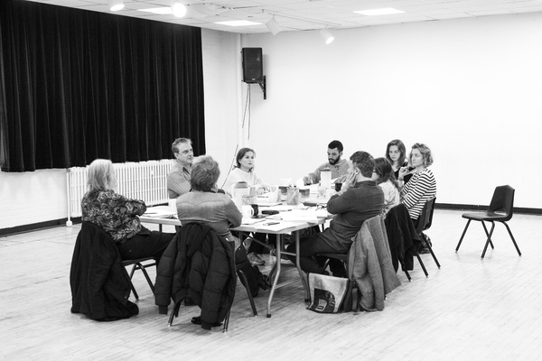 Photo Flash: In Rehearsal with THE MOTHER