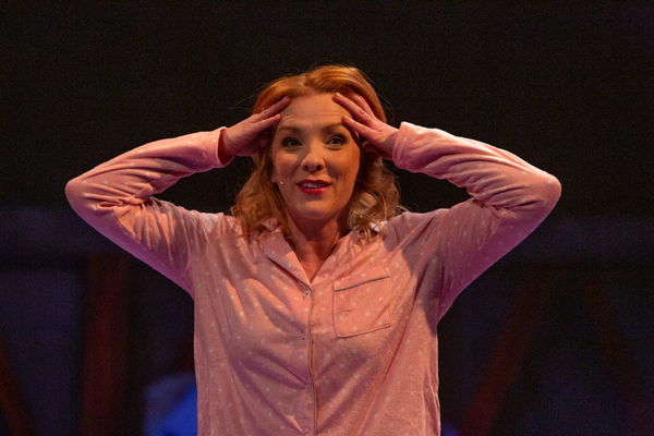 Photo Flash: THE MANUFACTURED MYTH OF EVELINE FLYNN at Theatre Three