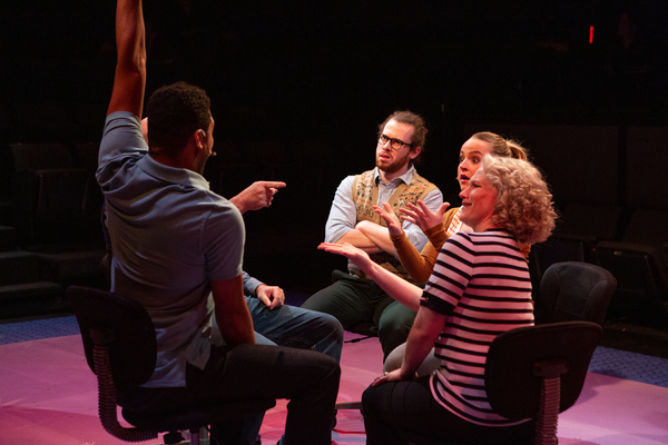 Photos: THE MANUFACTURED MYTH OF EVELINE FLYNN at Theatre Three