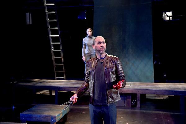 Mauro Hantman as Macbeth and Julia Atwood as Lady Macbeth Photo
