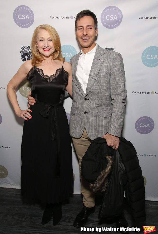 Patricia Clarkson and guest