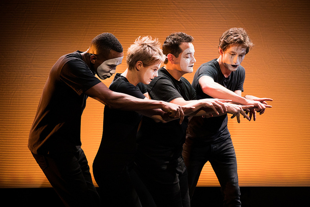 BWW REVIEW: Broken Box Mime Theater Explores The Fragility of Contemporary Life in SKIN