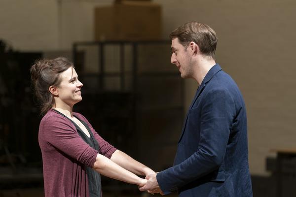 Gemma Sutton and Harry Hepple