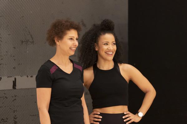 Kaye Brown and Jasmine Kerr Photo