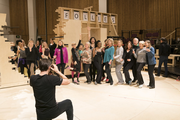 Photo Flash: Inside Rehearsal For The National Theatre's FOLLIES