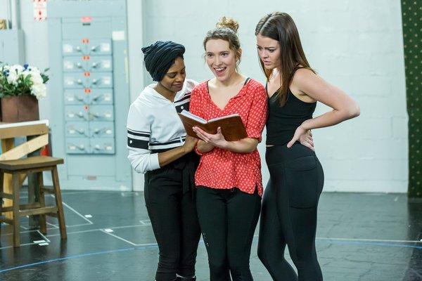 Photo Flash: Go Inside Rehearsals of Drury Lane Theatre's MAMMA MIA!