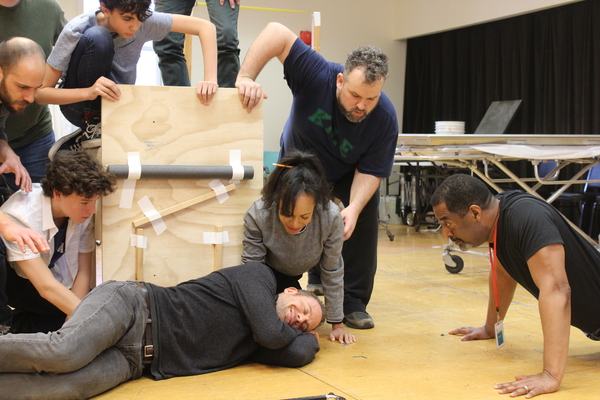 Photo Flash: Go Inside Rehearsals of Shakespeare Theatre Company's RICHARD THE THIRD