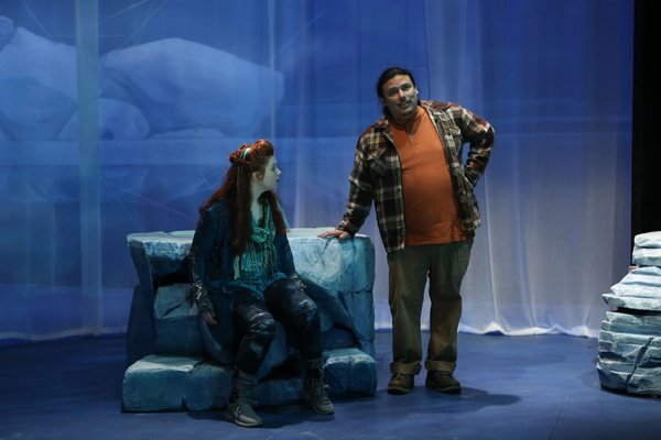 Photo Flash: Get A First Look At The World-Premiere Play WHALE SONG at Perseverance Theatre