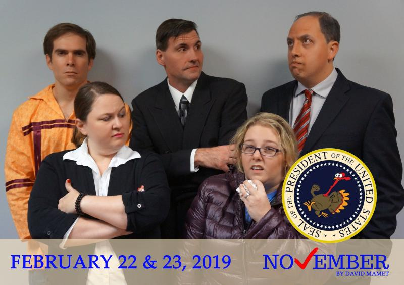 BWW Previews: NYNE PRESENTS NOVEMBER - FAILING PRESIDENT CANNOT GET SUPPORT IN POLITICAL COMEDY  at Brandon's Event Space
