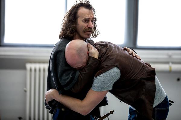 Photo Flash: In Rehearsal For Titan Theatre Company's CYRANO