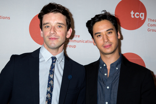Michael Urie, Michael Hsu Rosen Photo